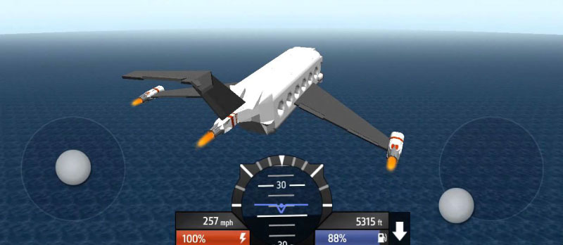 Screenshot of Simple Planes App