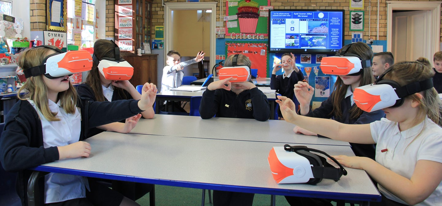 Schools will all soon be equipped with the latest Virtual ...