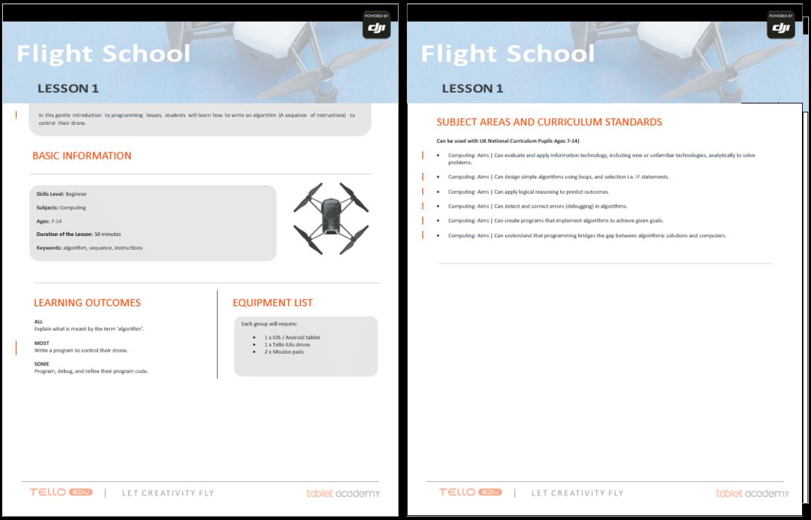 DJI DRONES – Tablet Academy